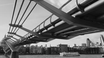 Millennial Bridge Photo copyright Rebecca Lau