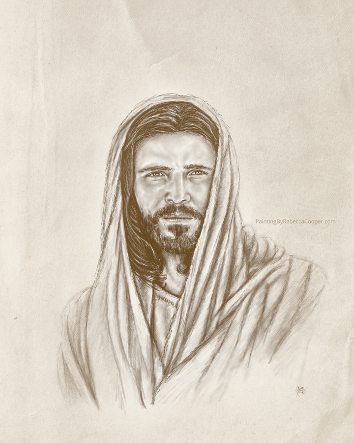 Drawing Challenge: Day 37 The Savior