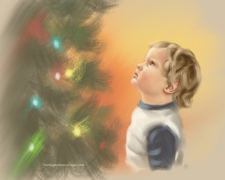 Drawing Challenge: Day 117 – Search for Christ this CHRISTmas