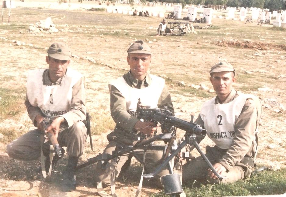 Soldan sağa: Ben, Muhsin, Metin(?)- Denizli -1988