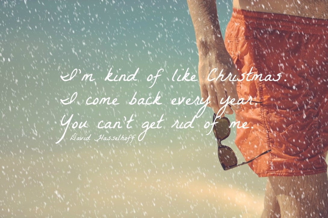 #the hoff #Christmas