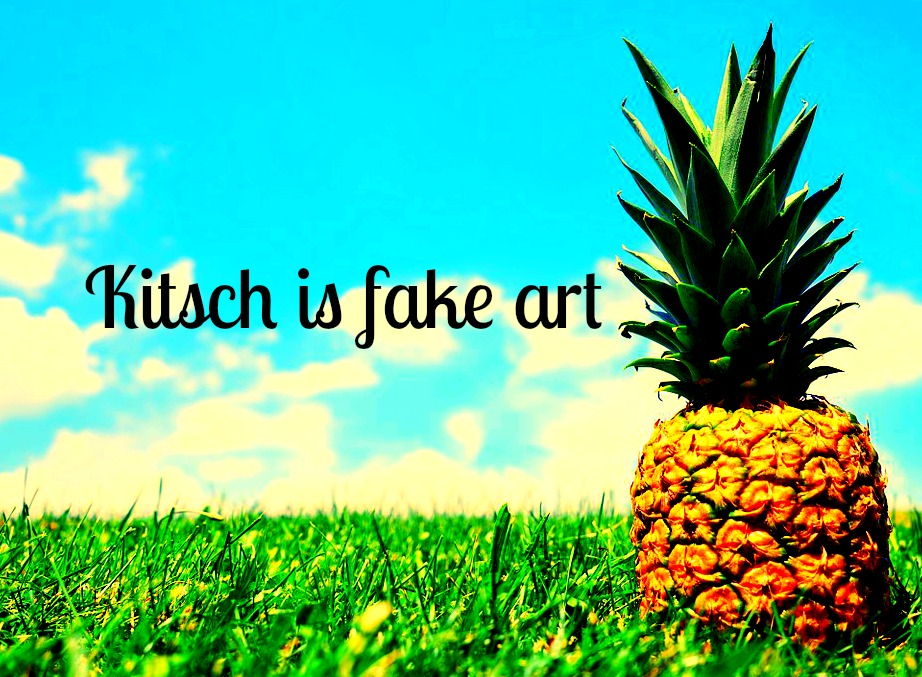 #Kitsch #quote Kitsch is fake art Roger Scruton Picture Quote be kitschig blog