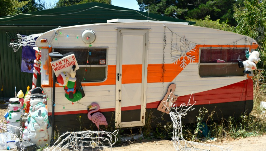 #Christmas #Caravan #Adelaide Hills South Australia all years Xmas decoration