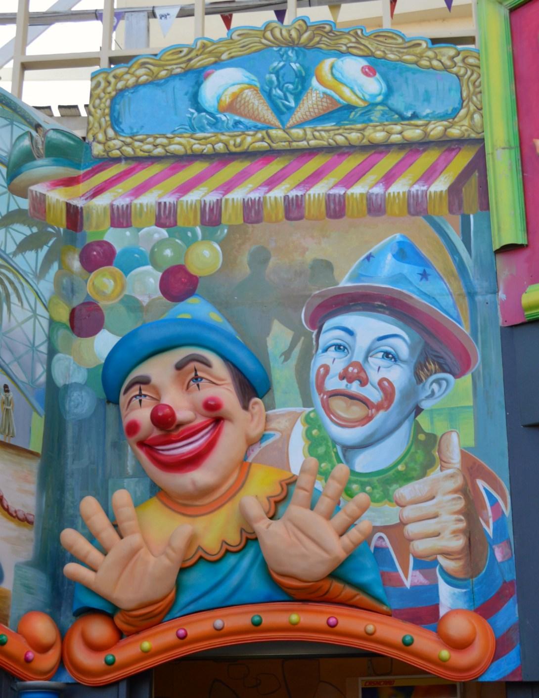 #Clown #kitsch #lunapark #melbourne #australia
