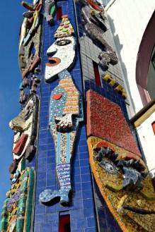 Mosaic Luna Park Clown
