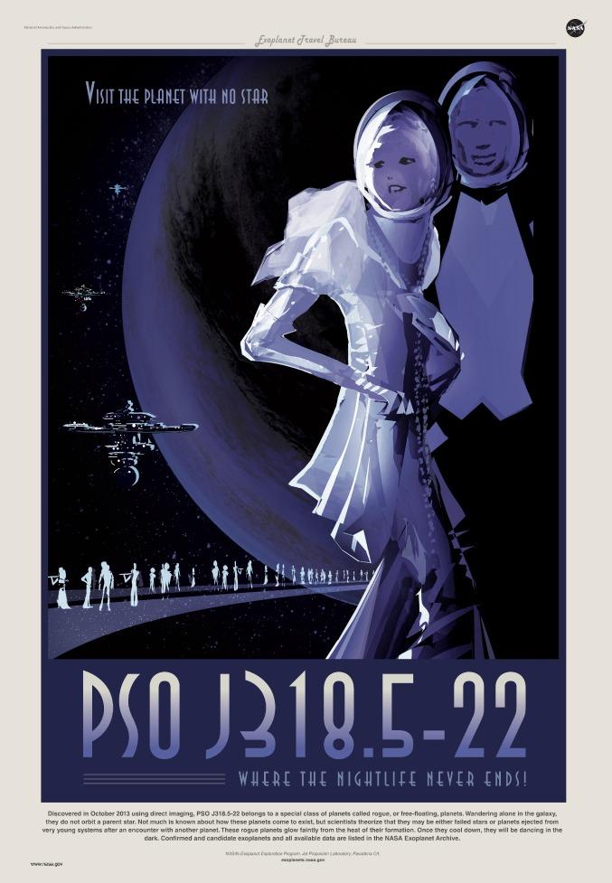 #rouge #NASA #poster