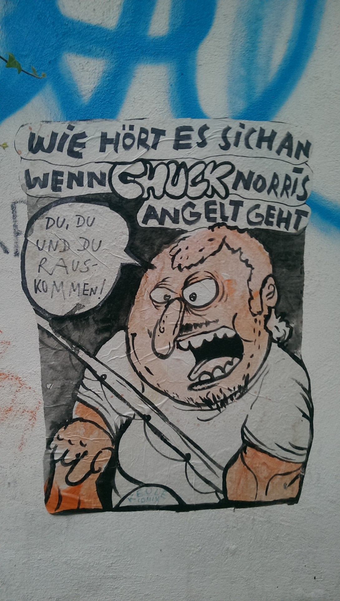Keule Comix Street art berlin be kitschig blog