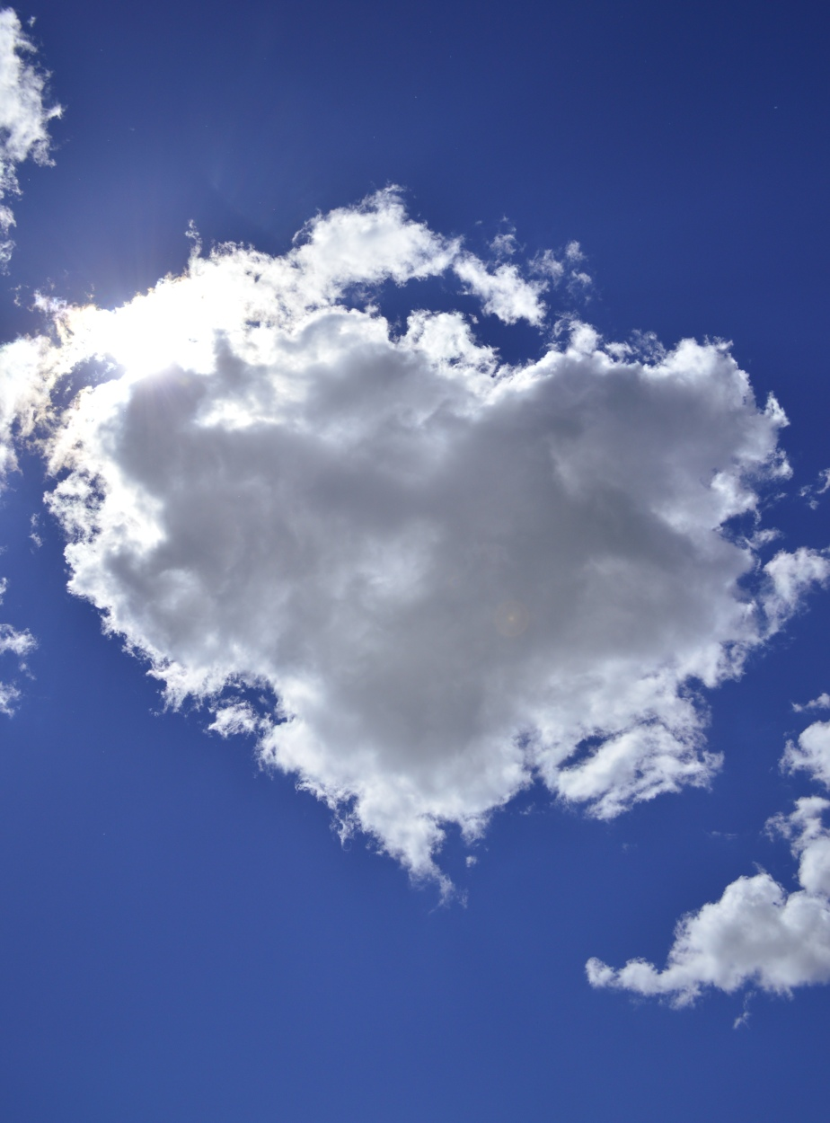#heart #cloud #herz #wolke #kitschig