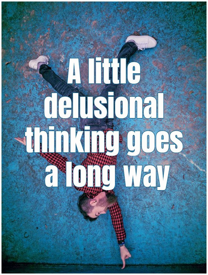 """#quote When you're trying to create a career as a writer, a little delusional thinking goes a long way."""" Michael Lewis be kitschig blog"""