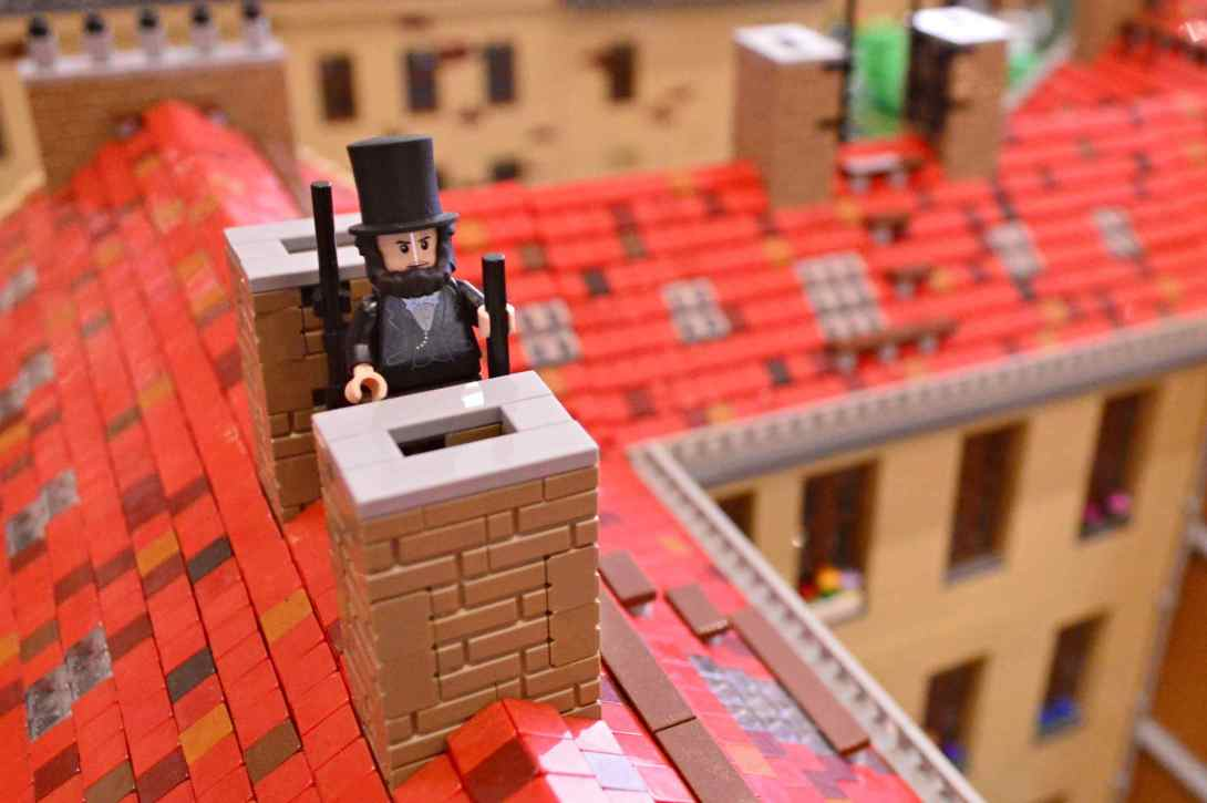 be kitschig blog Lego Love Chimney Sweeper