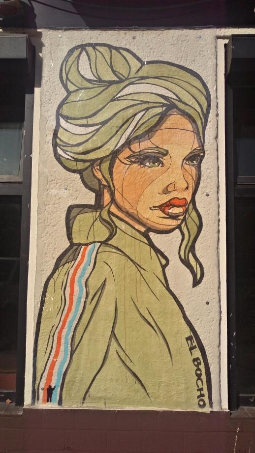 El Bocho Strassenkunst in Berlin Prenzlauer Berg