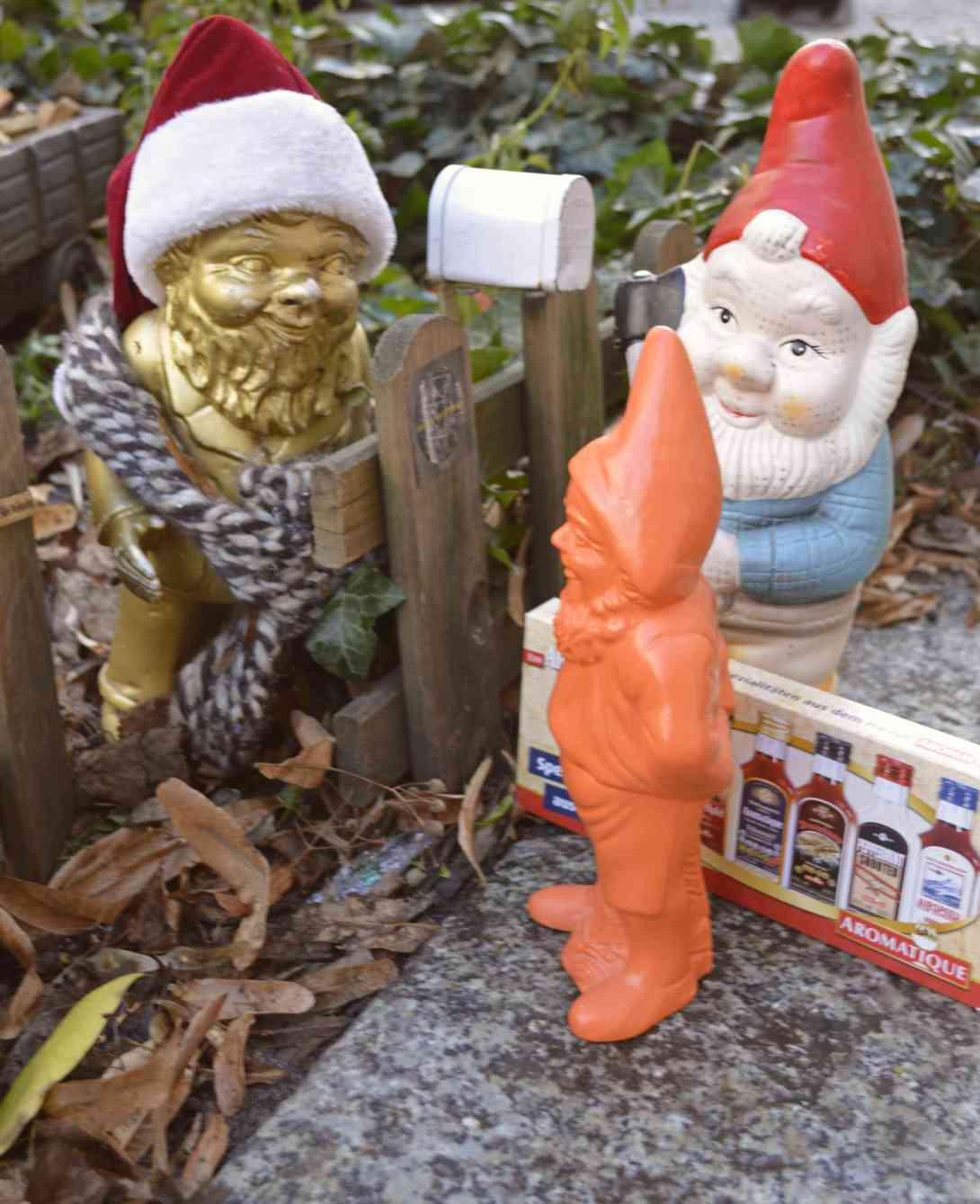 Be kitschig blog New Years with the Gnomes Gartenzwerg