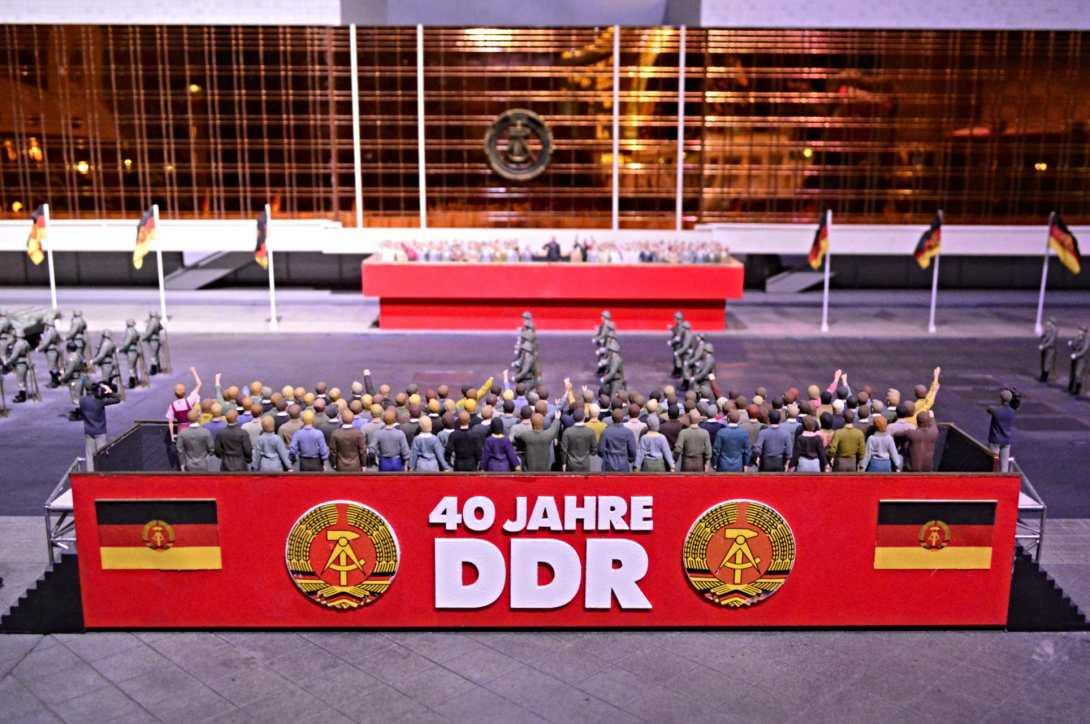 Palast der Republik Miniture Berlin  40 Years GDR 1989