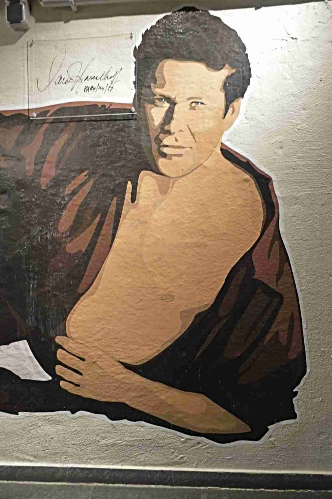 David Hasselhoff Muesum Berlin be kitschig blog #kitsch #thehoff