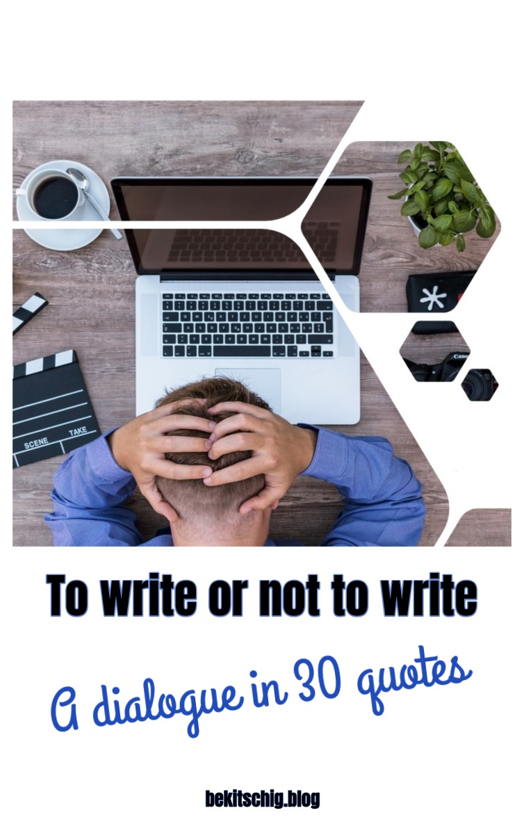 to write or not to write quotes for authors