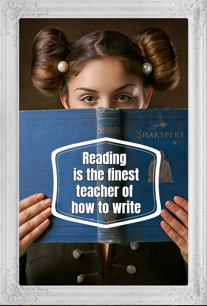 quote reading is the finets teacher of how to write
