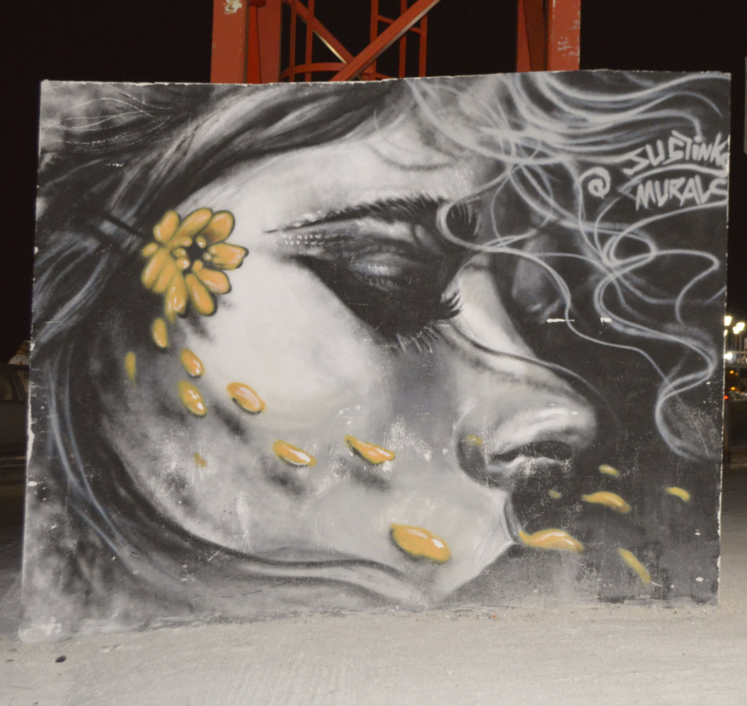 Street art in Malta Bugibba mural grafitti justinks be kitschig blog lady