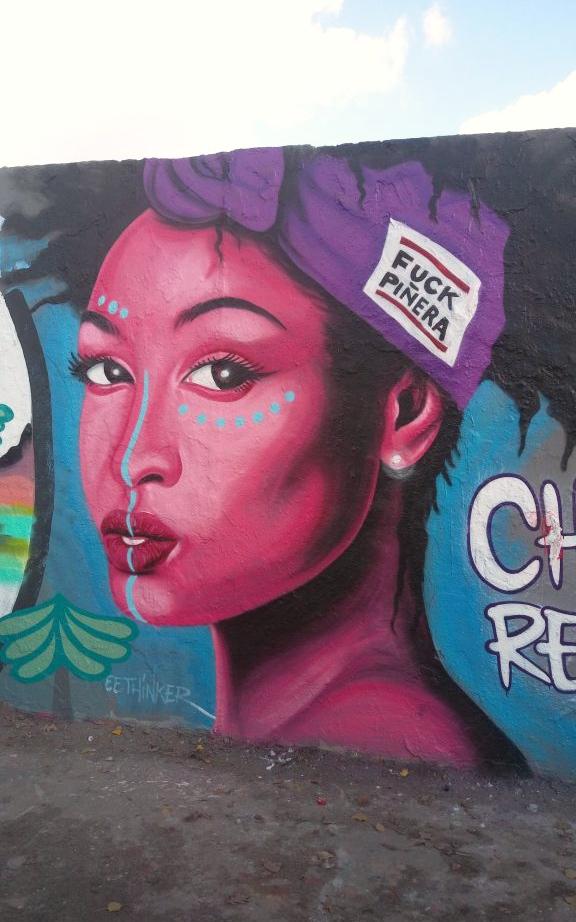 grafitti Mauerpark Berlin Prenzlauer Berh Fuck Pinera  be kitschig blog