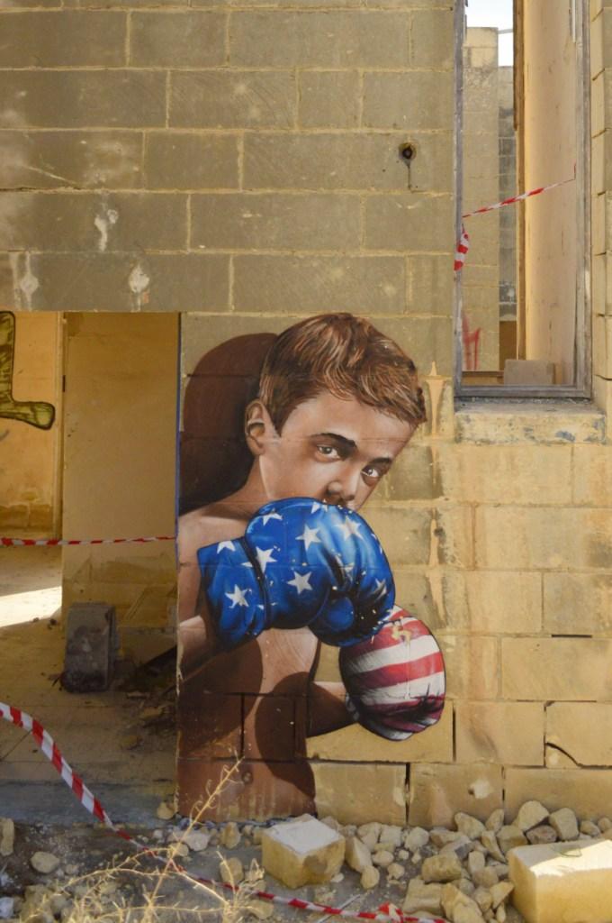 by nothinginside Pembroke Malta abandoned resort grafitti be kitschig blog