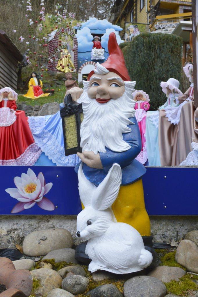 Garden Gnome Gartenzweg diezertanzten Schuhe be kitschig blog