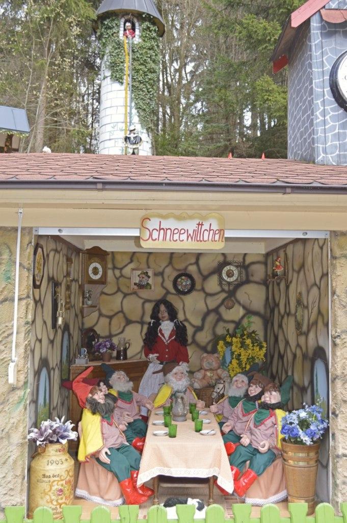 Märchenwald Saalburg Schneewitchen Snow White