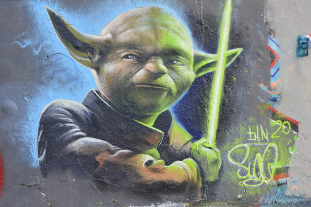 Postcards from Berlin #16 Yoda Mauerpark