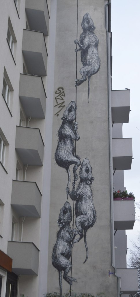 #streetart by ROA Postcards from Berlin #16