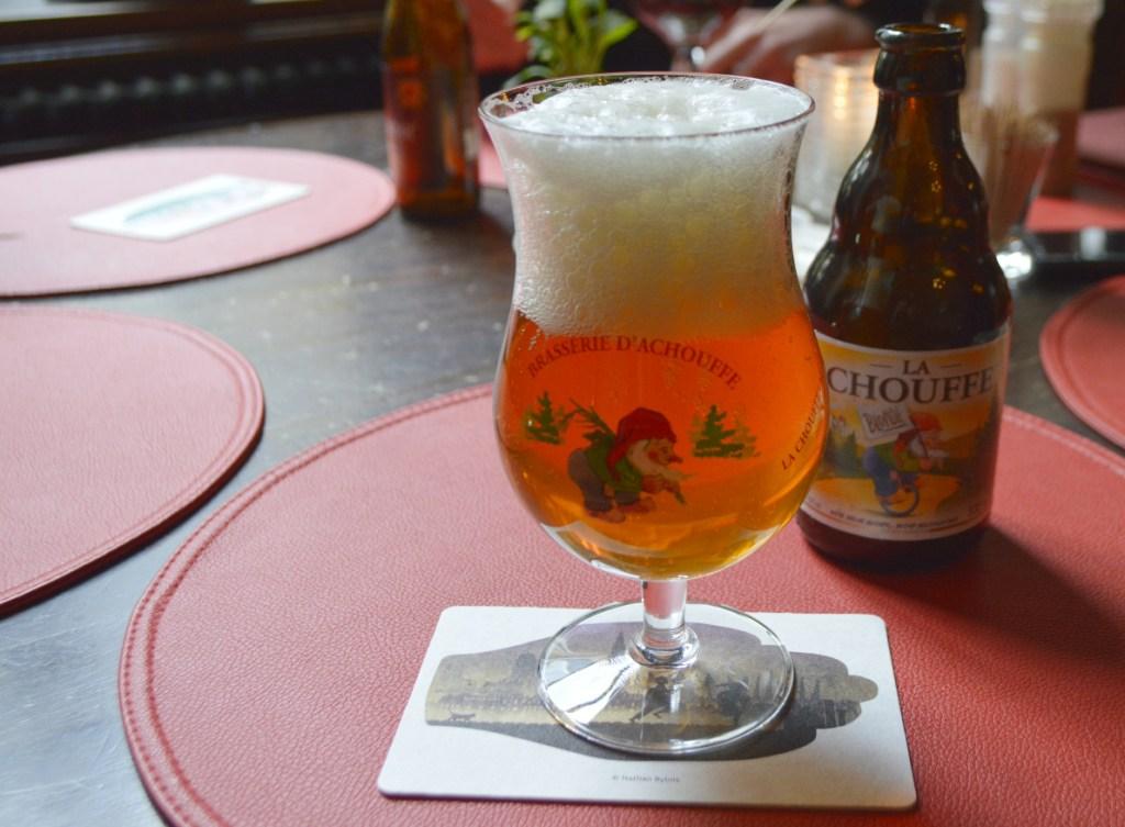 Beer bar in Antwerp with 200 kinds of beer