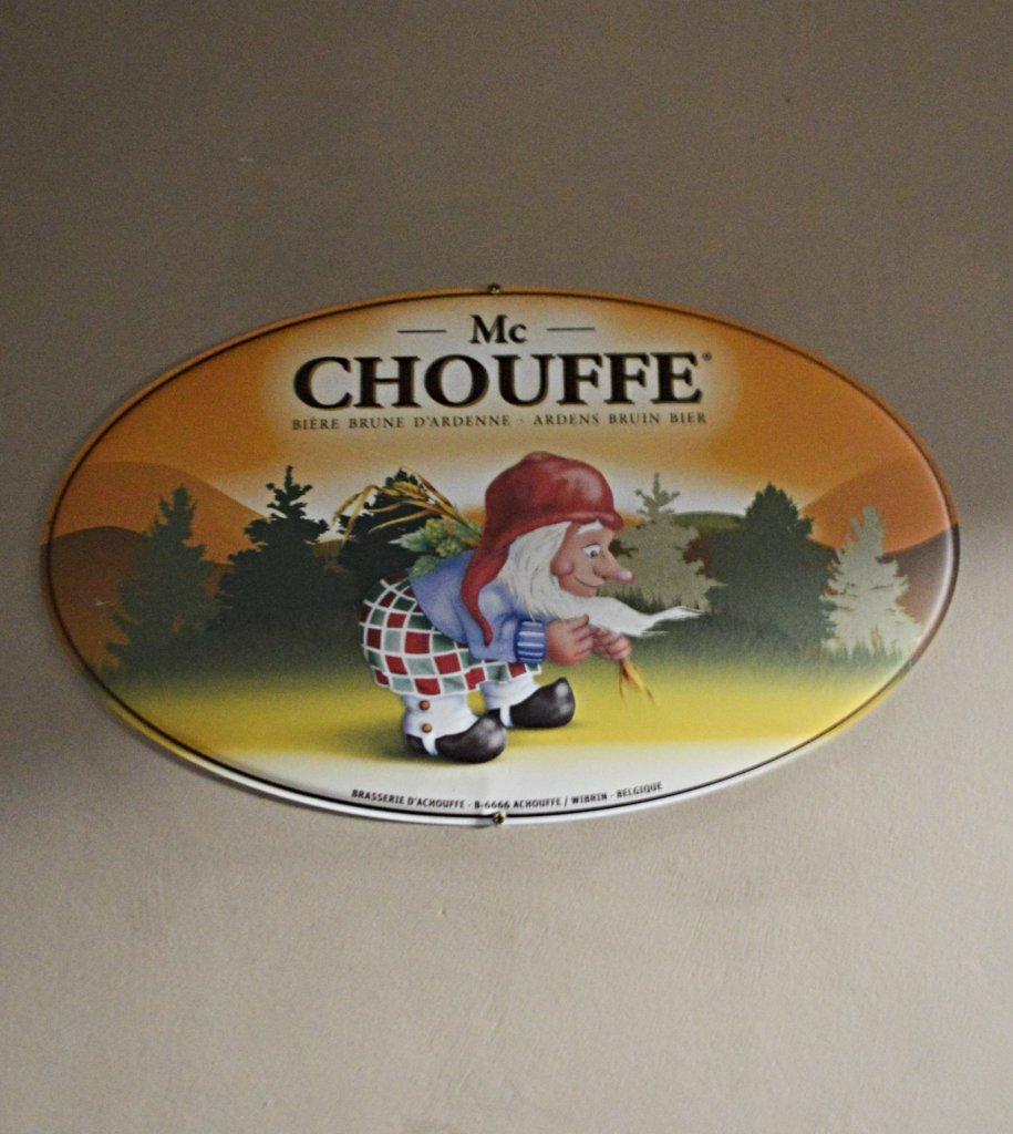 Mc Chouffe Beer Sign