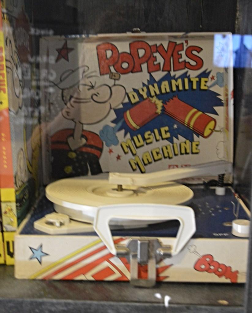 Popeye Village Malta museum Popeyes dynamite music mashine be kitschig blog