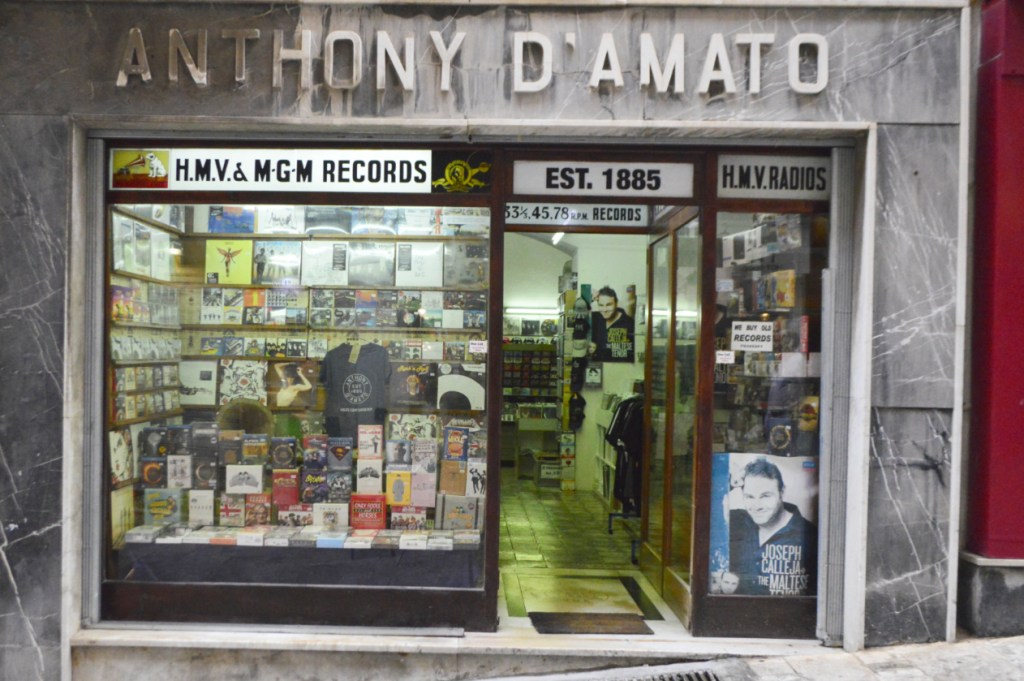 World's Oldest Record Shop Antony D'Amato Valetta Malta be kitschig blog