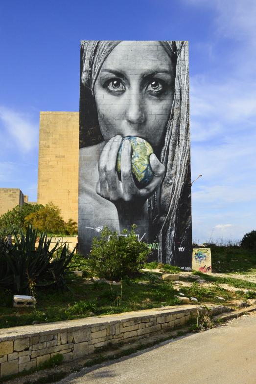 Meet Carona Corona Malta Pembroke Street art be kitschig blog Berlin