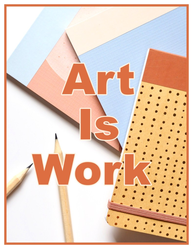 Art is work Ursula K LeGuin Quote be kitschig blog