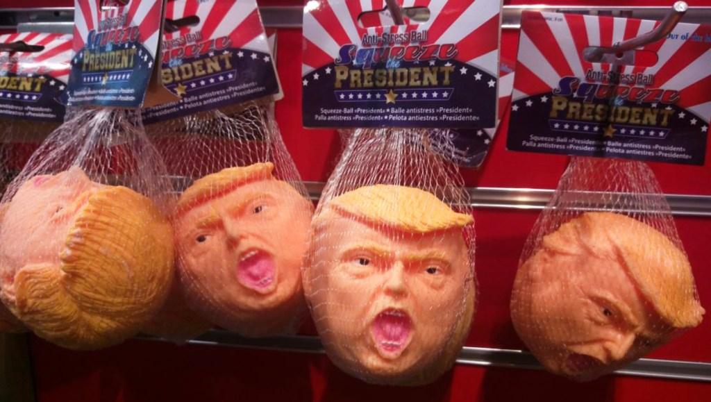Donald Trump anti stress ball president be kitschig blog