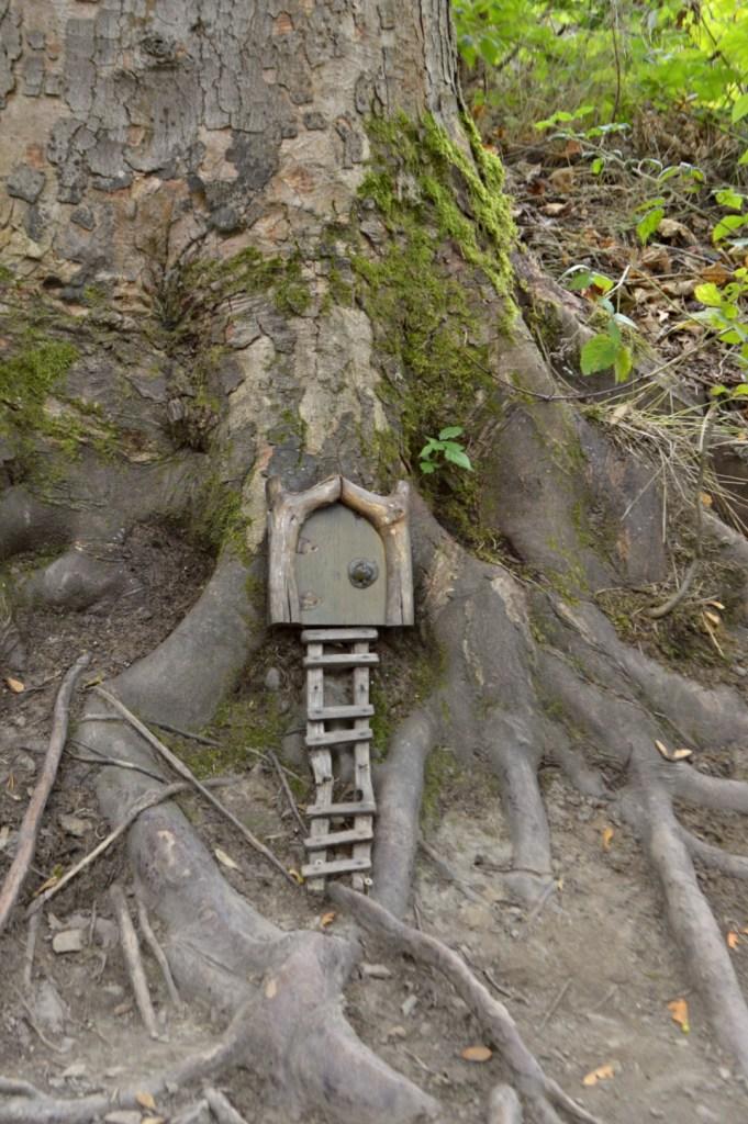 Feenwald Saalfeld Fall Greetings Fairy Door