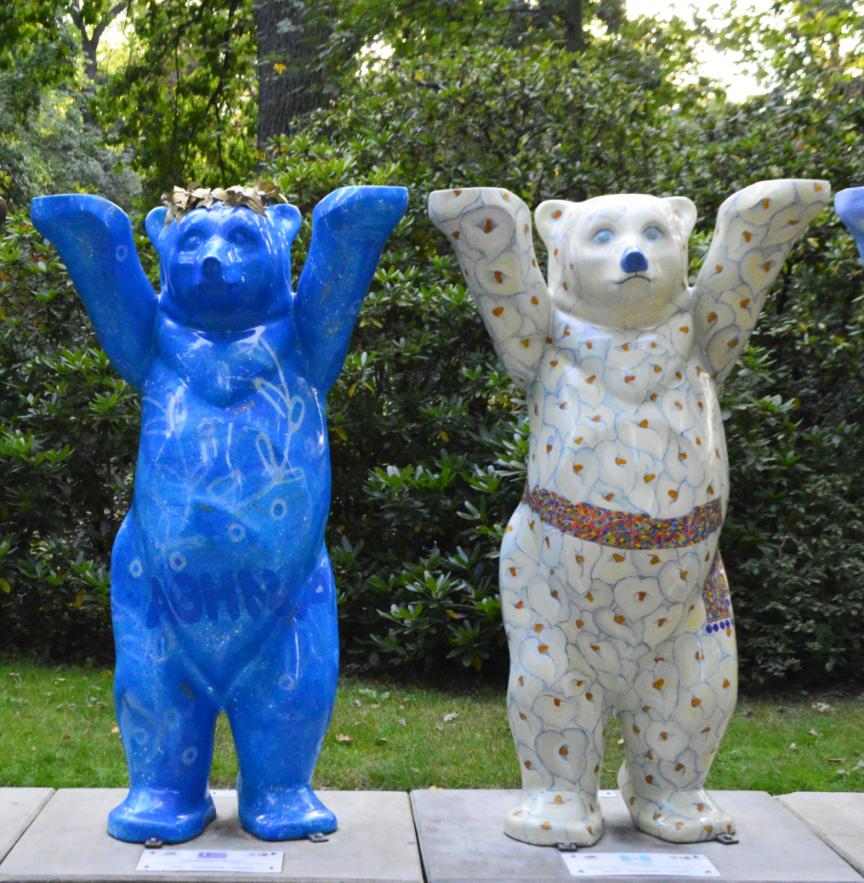 Buddy Bears in Berlin Tierpark