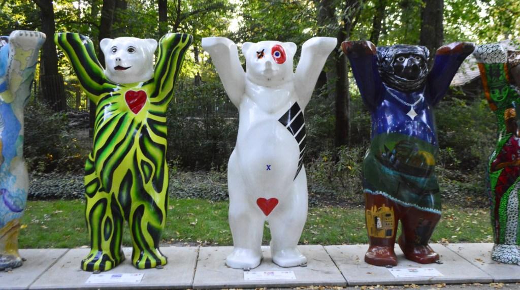 Buddy Bears Tierpark Berlin Zoo bekitschig blog