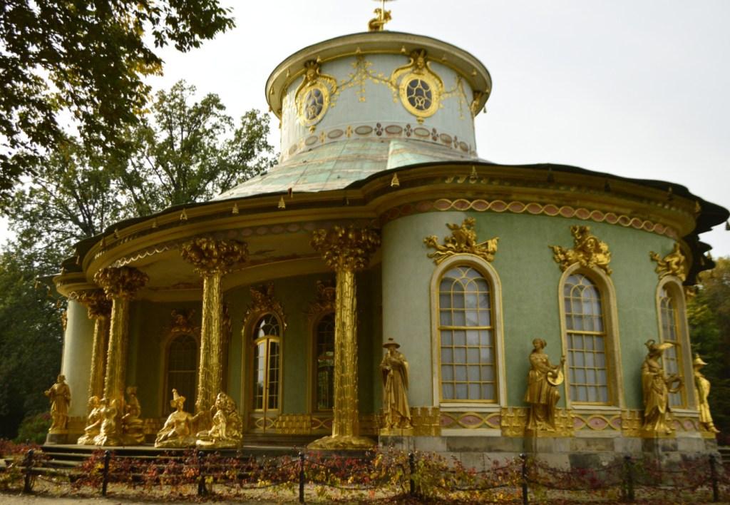 Teehaus Potsdam Chinesisches Haus im Park Sanssouci bekitschig blog