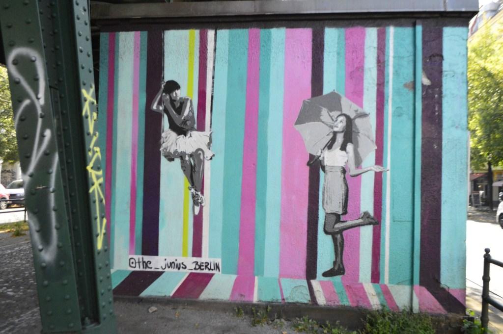Junction Box Stromkasten streetart by the junius Berlin Prenzlauer Berg