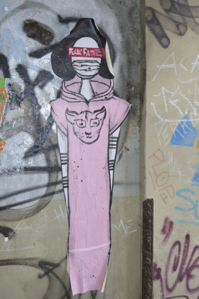 street art postcards from Berlin #21 bekitschig.blog - Ron Miller