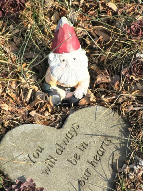 Garden Gnome Memorial