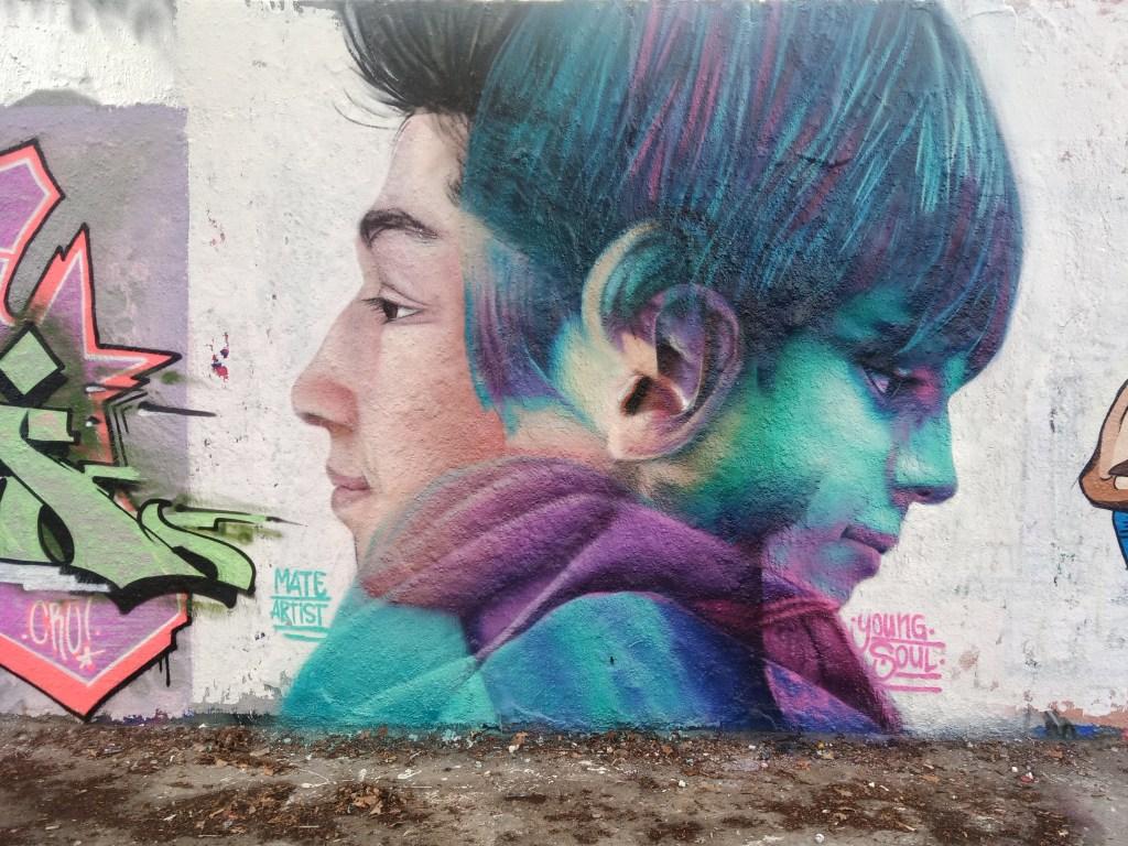 Young Soul by Mate Artist Berlin Mauerpark  bekitschig.blog street art postcards from Berlin #22