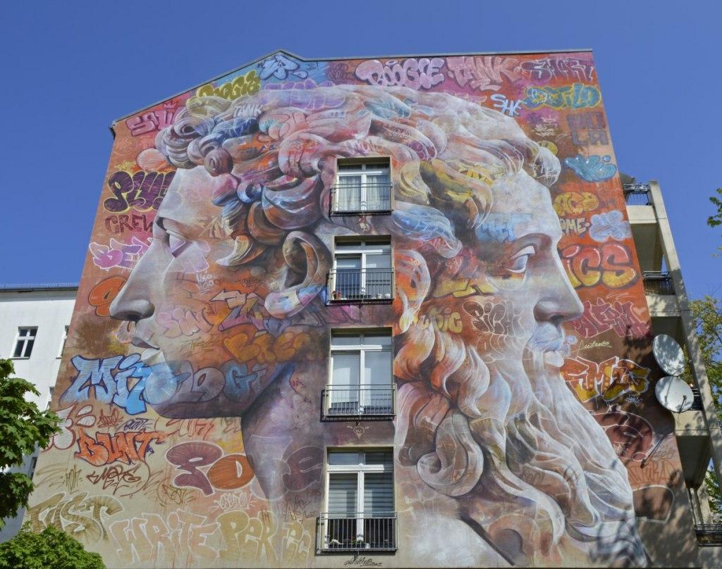 Friedrichstraße 9 - Mural by PichyAvo Berlin - Mural Fest 2019