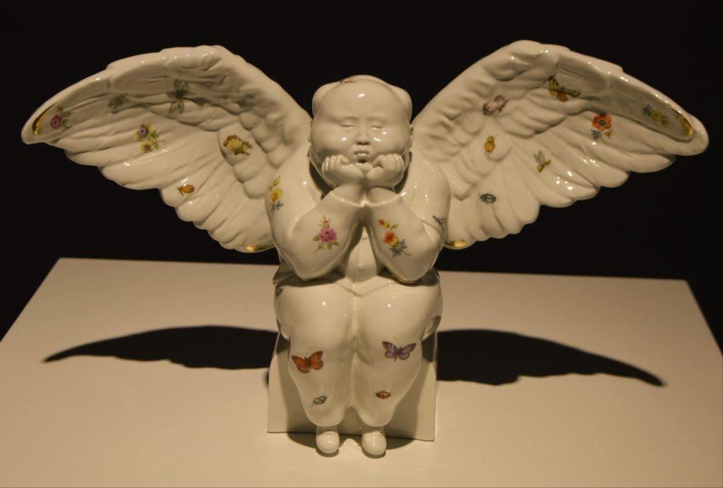 Qu Guangci - Angel of Joy - Overglaze Painting - Aufglasurmalerei - Porcelain - Porzellan aus Meißen  bekitschig.blog