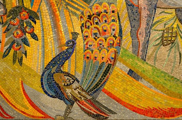#peacock #Mosaik