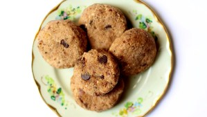 galletas libre de gluten y sin azucar