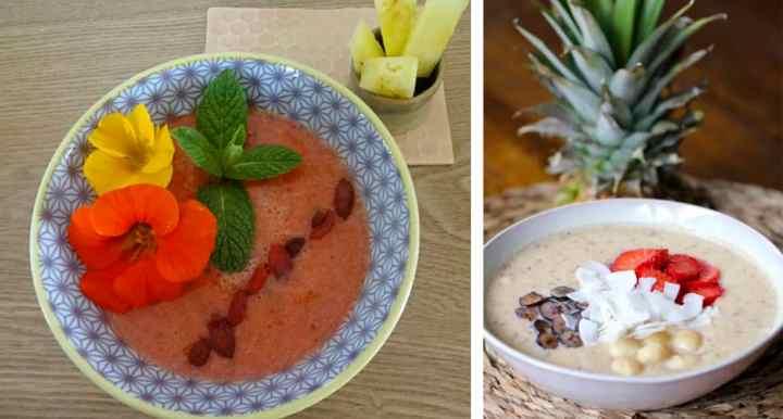 smoothie bowl para desayunar