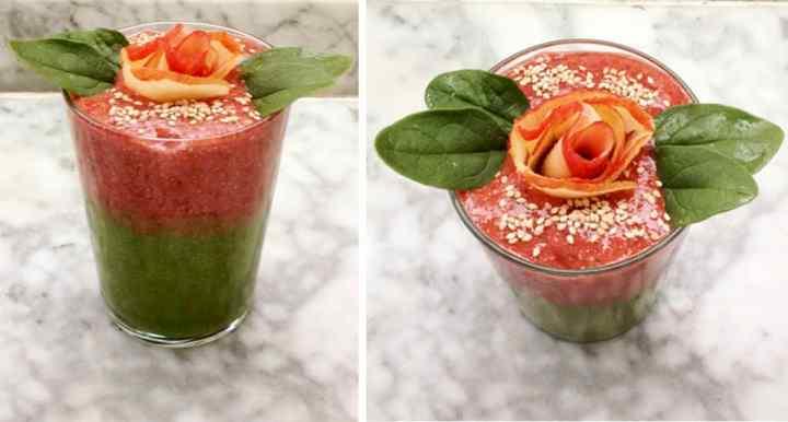smoothie bowl para desayunar sin gluten y raw food