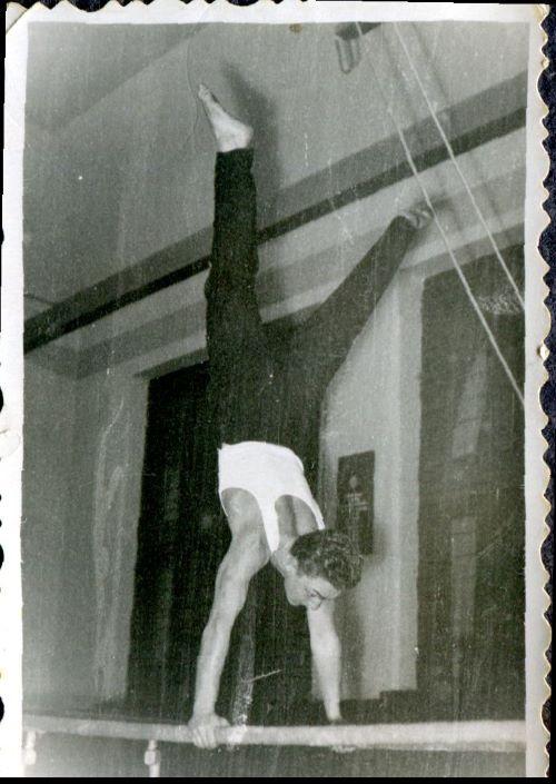 Iosif Karda la paralele, Arad 1959. Fotografie din arhiva personală