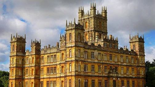 Highclere Castle is a country house in Hampshire, England.
